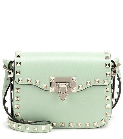 ROCKSTUD MINI LEATHER SHOULDER BAG VALENTINO