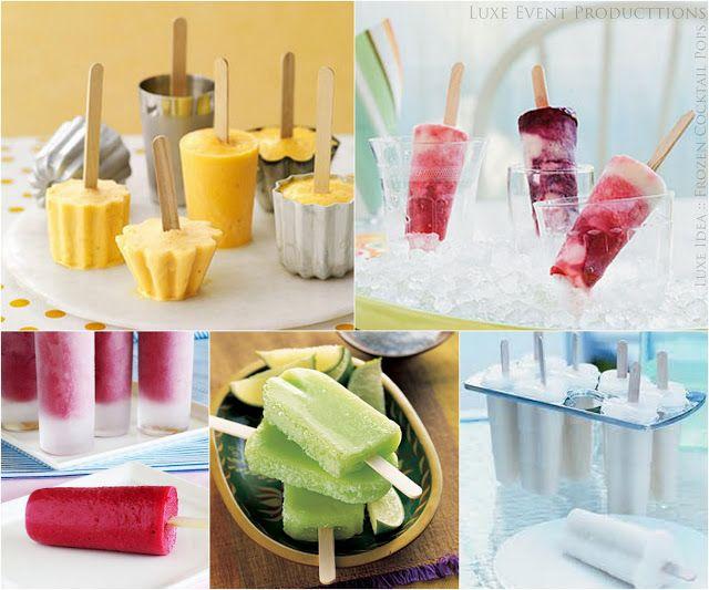 Cocktail Popsicle Ideas