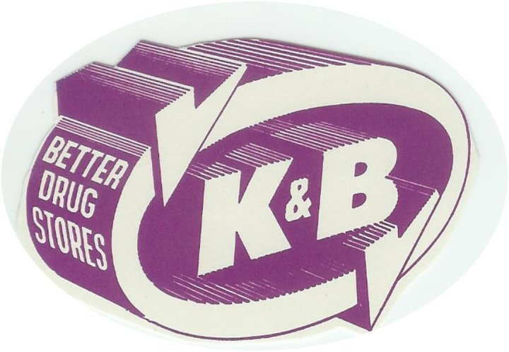 K & B  ...ain't ther no more...