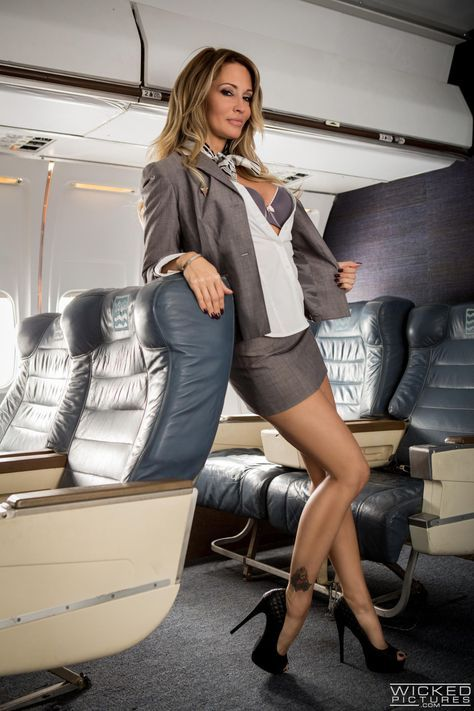 Pin By Aviation Comm On Air Hostess  Cabin Crew  Flight Attendant  Sexy Heels, Sexy -9672