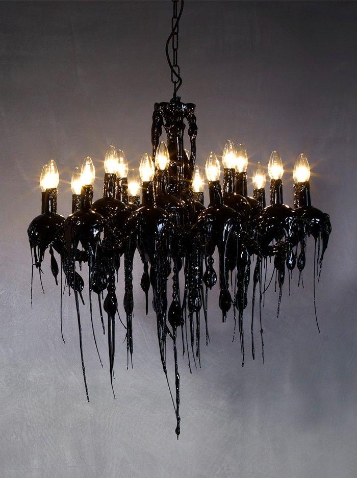 Hot Kroon Groot - Zwart - Hanglampen - Binnenverlichting - Webshop