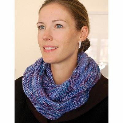 Dovetail Designs K1.10 Loop Scarf to Knit