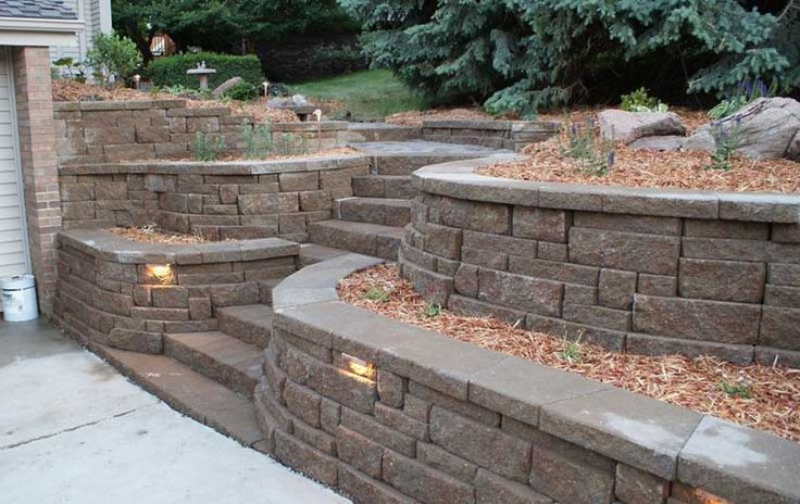 Best 25 Retaining wall bricks ideas on Pinterest
