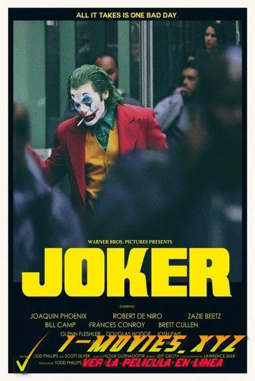 Joker Pelicula Completa En Espanol Online Joker Film Alternative Movie Posters Joker Poster