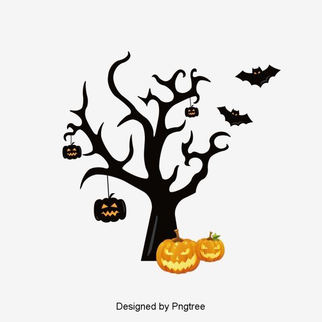 Simple Cartoon Halloween Design Pattern Halloween Design Simple Cartoon Free Graphic Design