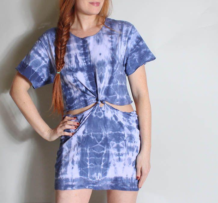 Gina Michele: diy t shirt beach dress [no sew!]