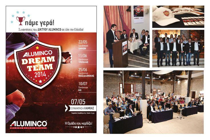 ALUMINCO ALUMINIUM INDUSTRY Creation of corporate identity Creation of communication materials Roadshow Tour Communication and publicity development program