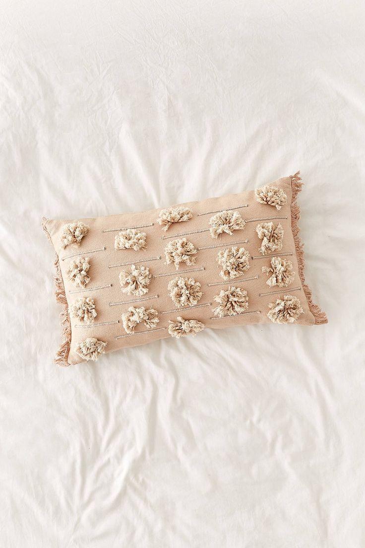 Edra Tufted Lumbar Pillow | Urban Outfitters