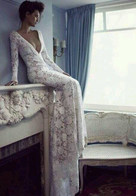 beautiful dress for a wedding.