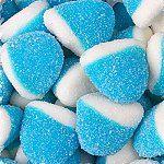 Wedding Candy Buffet Blue Raspberry Puffs