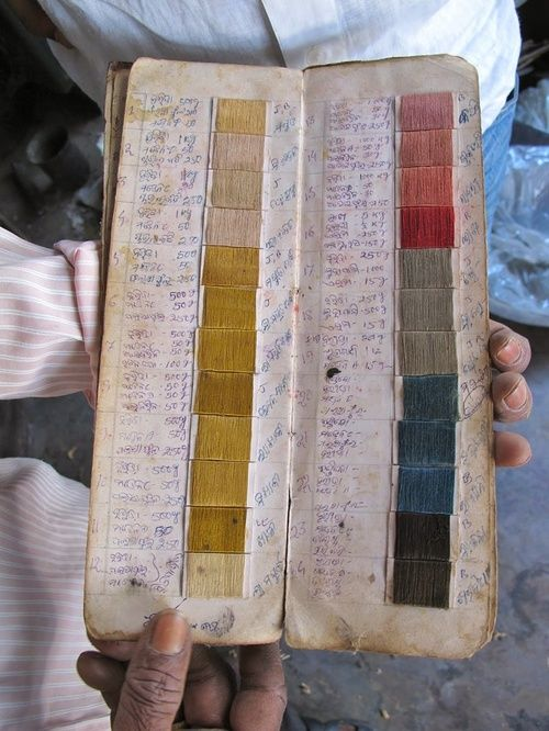 archive of plant based dyes in India.  here is the link to the source,