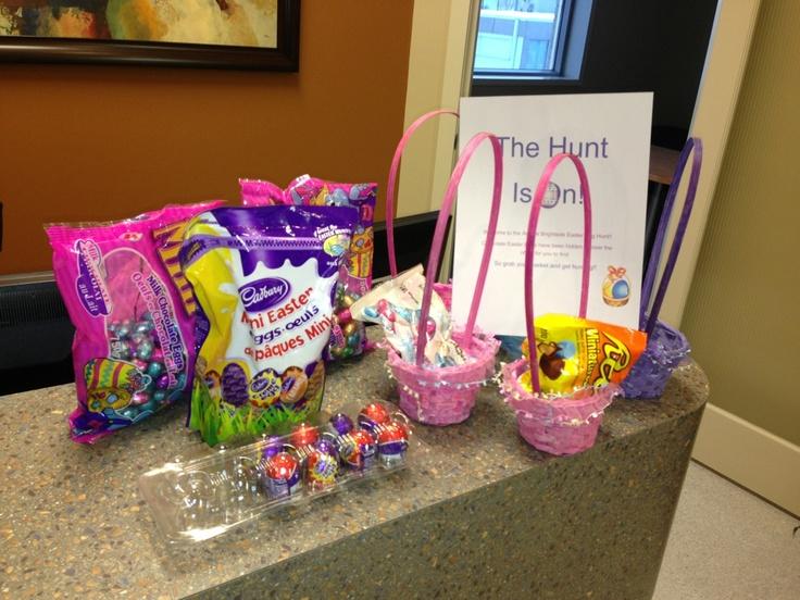 Easter egg hunt at the office brightsidedentalcare