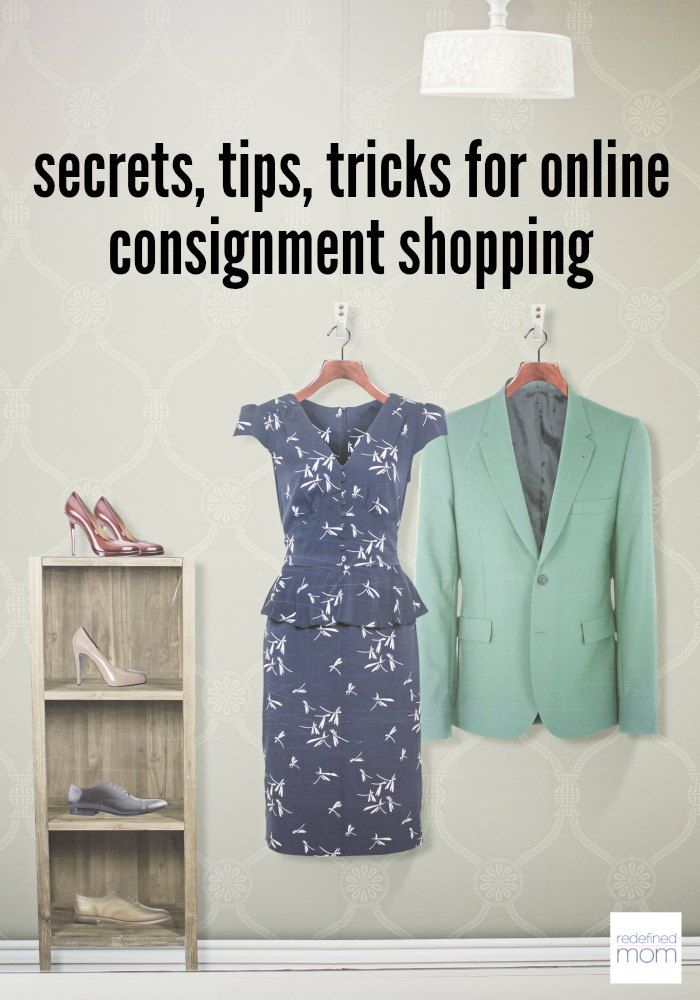 Like designer clothes? Me too. Use these Secrets, Tips, Tricks for Second-Hand Consignment Shopping Online and get designer brands cheap - 80% off retail prices