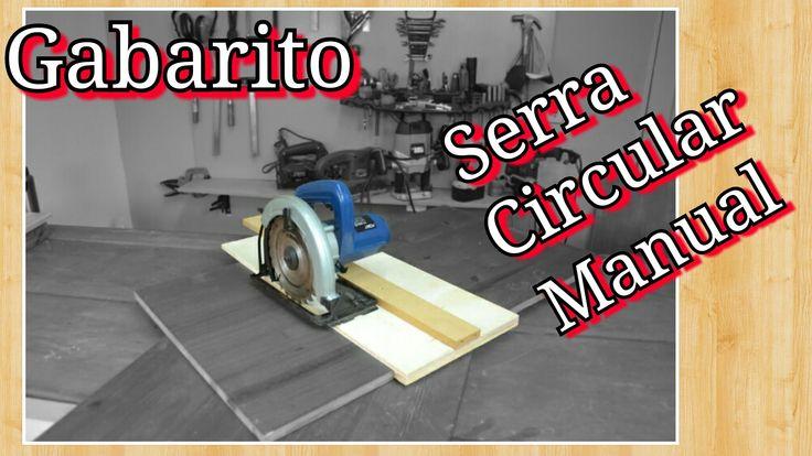 Gabarito para Serra Circular portátil / manual
