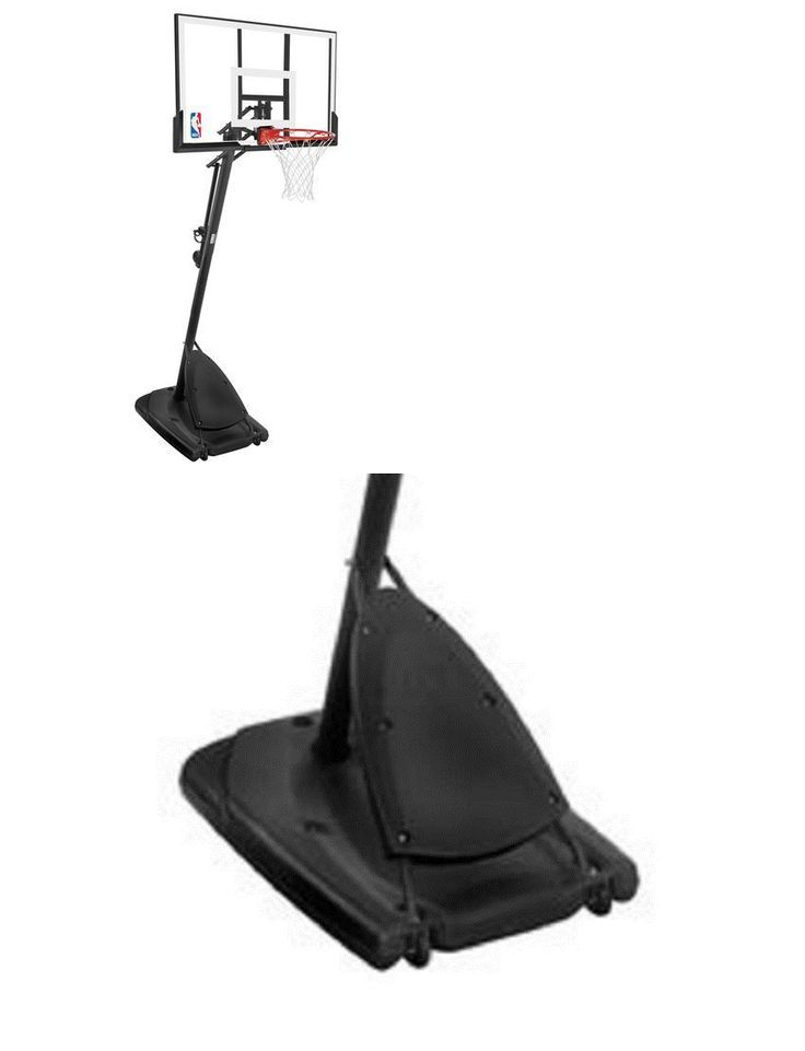 Backboard Systems 21196: Nba Basketball System Spalding 54 Acrylic Portable Basketball Hoop -> BUY IT NOW ONLY: $310.97 on eBay!