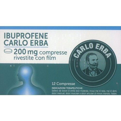 IBUPROFENE CARLO ERBA 200 MG COMPRESSE RIVESTITE CON FILM   Sollievo dal dolore di entità lieve–moderata, inclusi mal di testa, mal di denti, dolori mestruali, dolori muscolari e dolori articolari di minore intensità. Febbre.  SCONTO DEL 21%     #ibuprofene #sconto #farmaciaonline #malditesta #maldidenti #eurofarmacia #risparmio