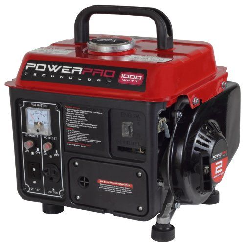 Quick and Easy Gift Ideas from the USA  PowerPro 56101 2-Stroke Generator, 1000-watt http://welikedthis.com/powerpro-56101-2-stroke-generator-1000-watt #gifts #giftideas #welikedthisusa