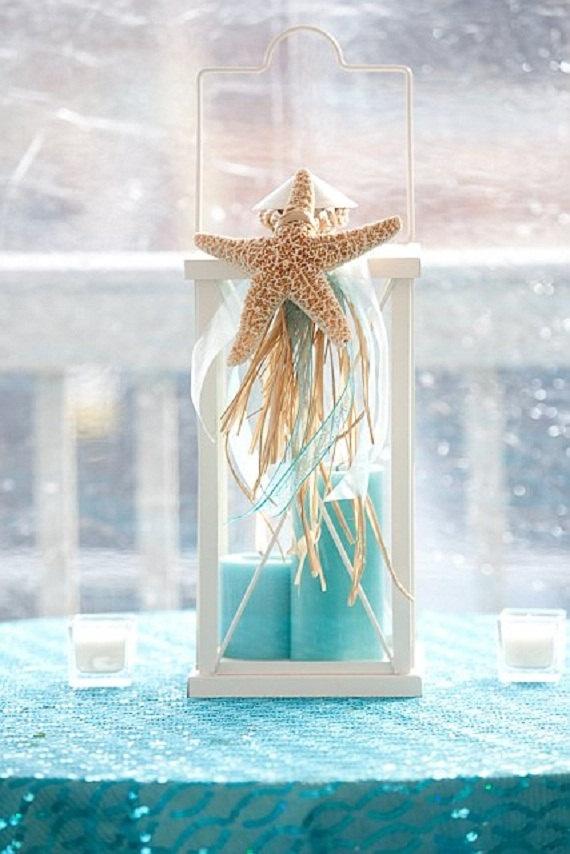 Lantern star starfish decoration starfish ornament by kerilussier, $12.95