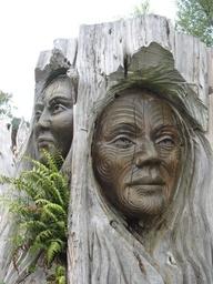 Maori Carvings, New Zealand