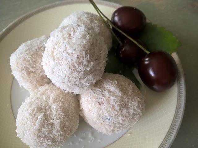 ArtJonKa: Coś słodkiego do kawusi bez cukru - pełnia zdrowia i rozkosz podniebienia:)