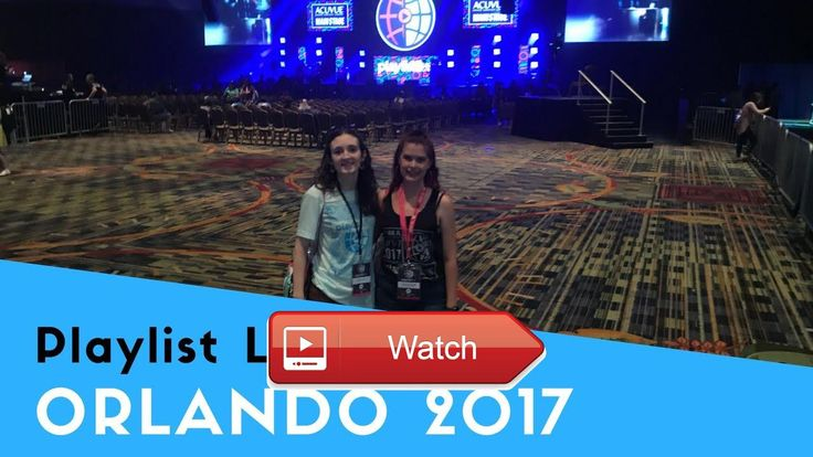 VLOG Playlist Live Orlando 17  I had a blast at Playlist Live Orlando this year I can't wait till I can go to one of these conventions again follo
