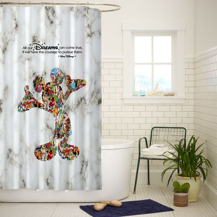 The 25+ best Mickey mouse shower curtain ideas on Pinterest ...