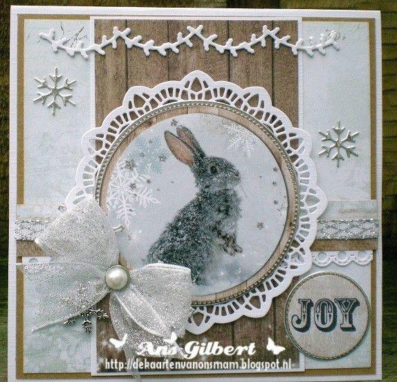 Hallo Allemaal, Vandaag 2 kerstkaarten met het mooie DP van SL Winter Feelings, ook het plaatje is van een stansvel van SL. Achter het pl...