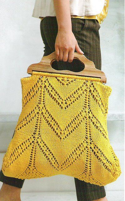 Knitting Bag Pattern Pinterest : 17 Best images about KNIT BAG on Pinterest Free pattern, Cable and Owl back...