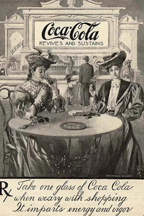 An Atlanta pharmacist John Pemberton developed Coca Cola in 1885