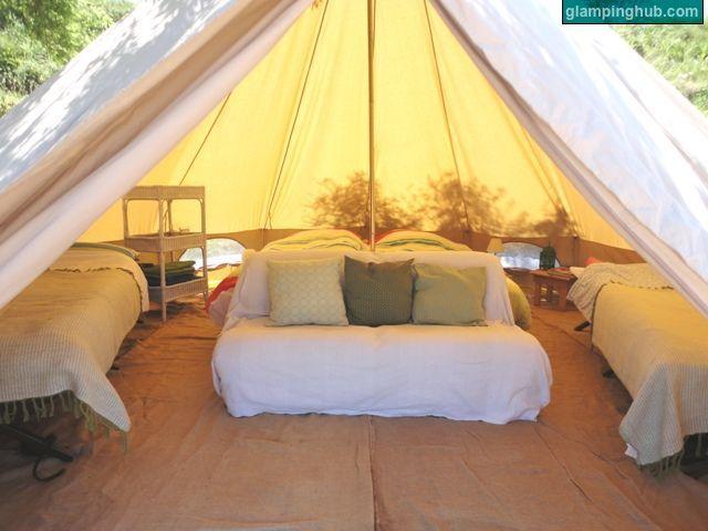GLAMPING! Glamorous Camping! Love it!