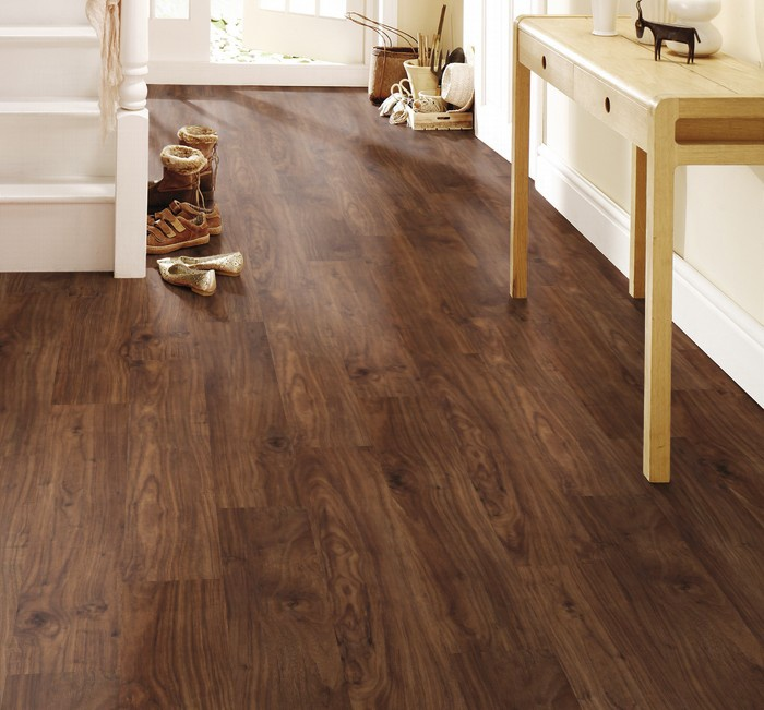 Find Great Deals On Krono Original Castello Classic Harvard Walnut Laminate Flooring With Attached Pad