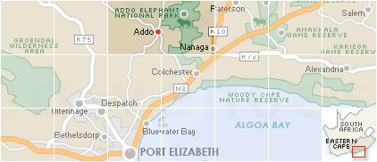 Addo Search by Map