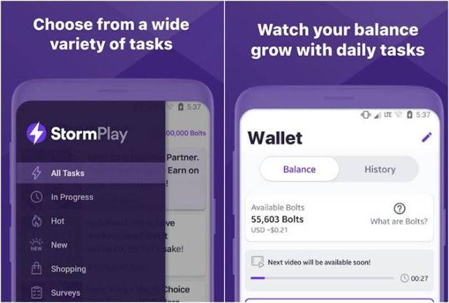 Storm Play Aplikasi Android Penghasil Bitcoin Di 2021 Papan Skor Investasi Aplikasi Android