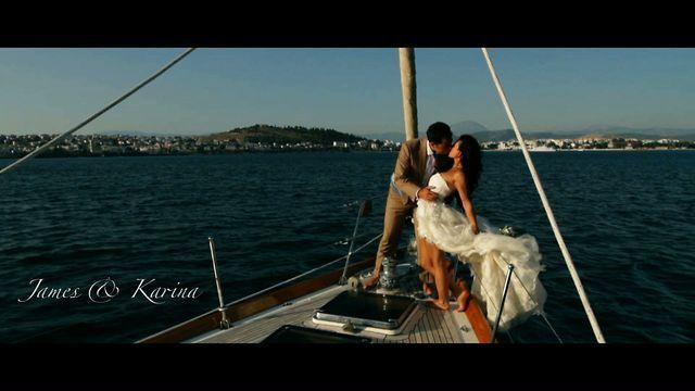 An amazing wedding in Greece by Wedfilmakers.