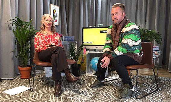 Juridikprofessor Mårten Schultz frågas ut av journalisten Anna Fagerström.
