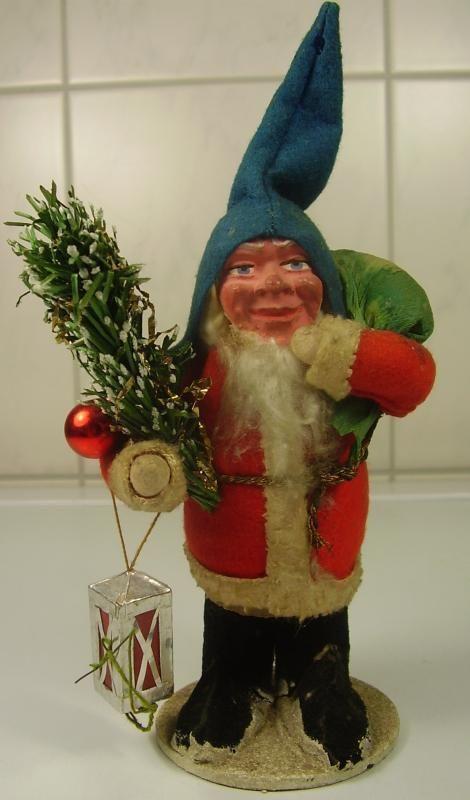 Antike seltene schöne Weihnachtsmann Füllbox vor 1945 | eBay