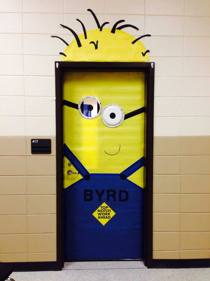 Minion Classroom Door Decor ~ Best minion classroom door ideas on pinterest
