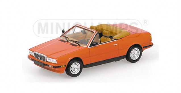 Maserati Biturbo Spyder 1986 Red Minichamps 400123530