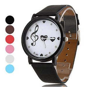 Tanboo Women's PU Analog Quartz Wrist Watch (Assorted Colors) by Tanboo Watchs. $6.99. Sports Fan Watch. Gender:Women'sMovement:QuartzDisplay:AnalogStyle:Wrist WatchesType:Casual WatchesBand Material:PUBand Color:White, Blue, Black, Red, PinkCase Diameter Approx (cm):4.2Case Thickness Approx (cm):0.8Band Length Approx (cm):24Band Width Approx (cm):2
