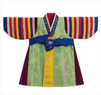 까치두루마기(남아), 정정완, 화장 71×55cm (Gobangja Durumagi-overcoat)