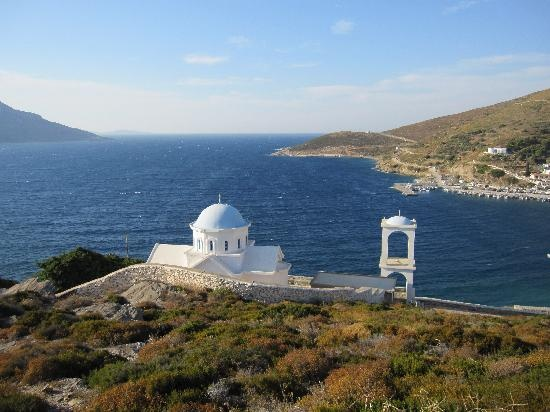 CHAPEL IN FOURNOI IKARIAS GREECE