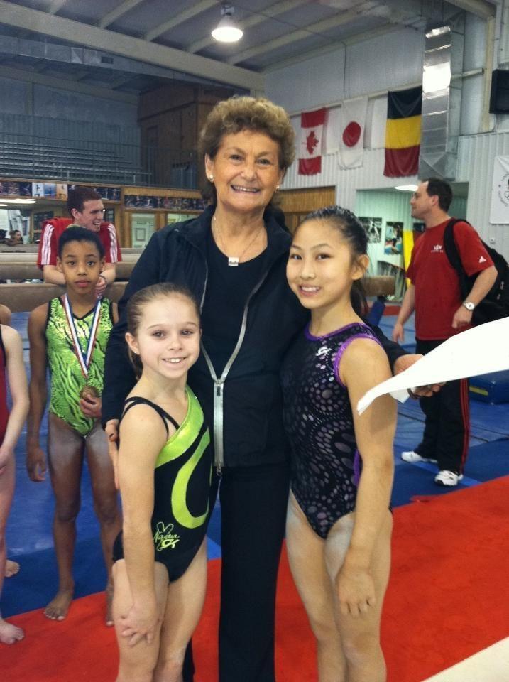 ragan smith gymnastics   Ragan Smith, Martha Karolyi, and Amanda