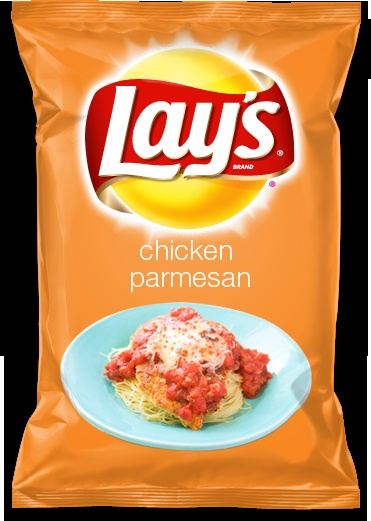 chicken parmesan flavored lays chip?