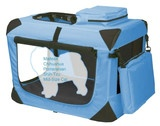 Pet Gear Ocean Blue Extra Small Deluxe Soft Dog Crate