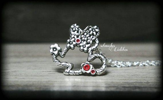 925er Silber Disney Kette Minnie Mouse von byschmuckesLaedchen