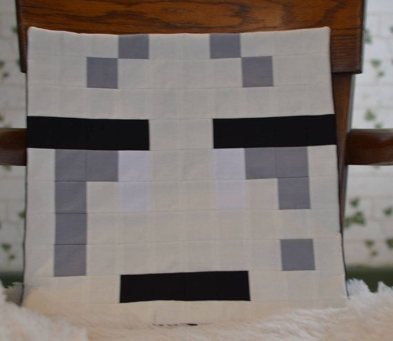Check out this item in my Etsy shop https://www.etsy.com/ca/listing/571858351/minecraft-inspired-ghast-pillow-case