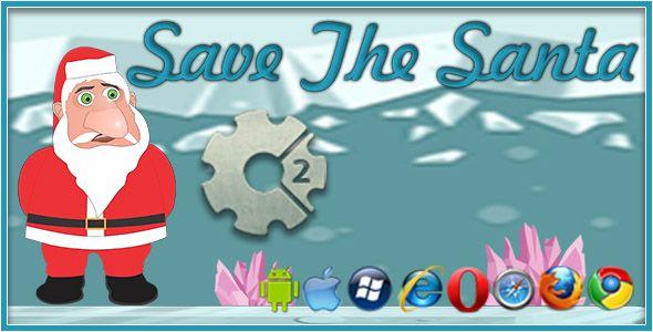 Save the Santa - HTML5 Game #AndroidGame, #BrowserGame, #ChristmasGame, #DigiSmileLtd, #Html5Game, #PhysicsGame, #PhysicsPuzzle, #ResponsiveGame, #SavingChristmas, #WebGame, #WebsiteGame https://goo.gl/R0Arxy
