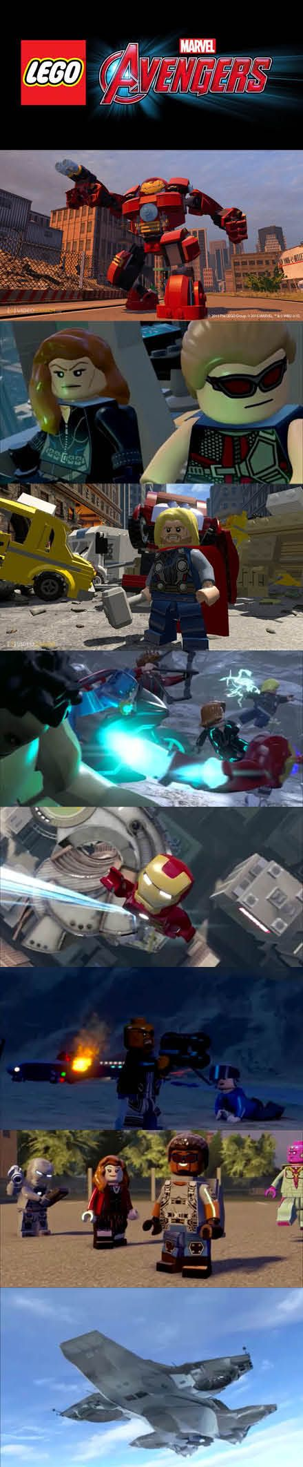 You get to play through the Marvel movies in #LEGO #Marvel #Avengers! #IronMan #Captain America #Hulk #Thor #BlackWidow #Hawkeye http://www.levelgamingground.com/lego-marvel-avengers-review.html