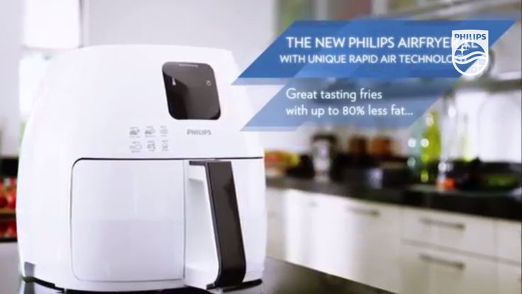Philips Airfryer XL with unique Rapid Air Technology and more - What doe...