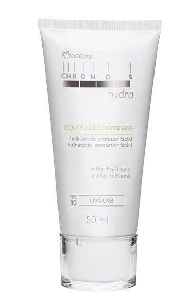Natura Chronos Hydra Hidratante Protetor Facial Controle de Oleosidade